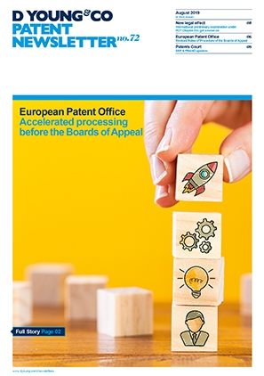 Patent newsletter Latest edition