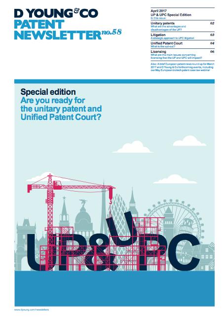 Patent Newsletter No.58