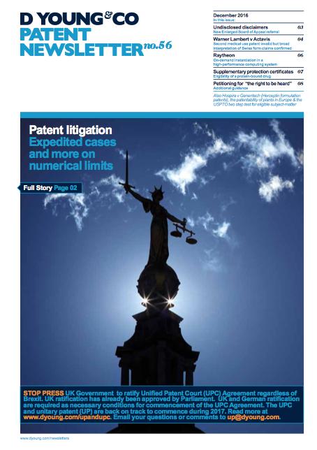 Patent Newsletter No.56