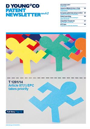 Patent Newsletter No.62