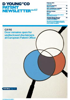 Patent Newsletter No.63