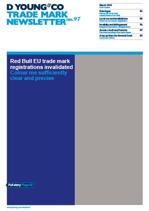 Trade Mark Newsletter No.97